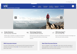 Vendor Direct Solutions new website offers a clean, modern design making it easier for potential clients to navigate.
