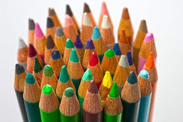 Colored Pencils - graphic design